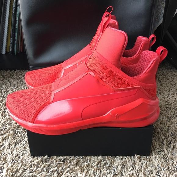PUMA Fierce Core All Red Women's Fashion Sneakers